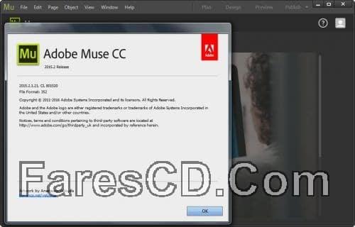 برنامج أدوبى لتصميم المواقع Adobe Muse CC 2015.2.1.21 (x64) (2)