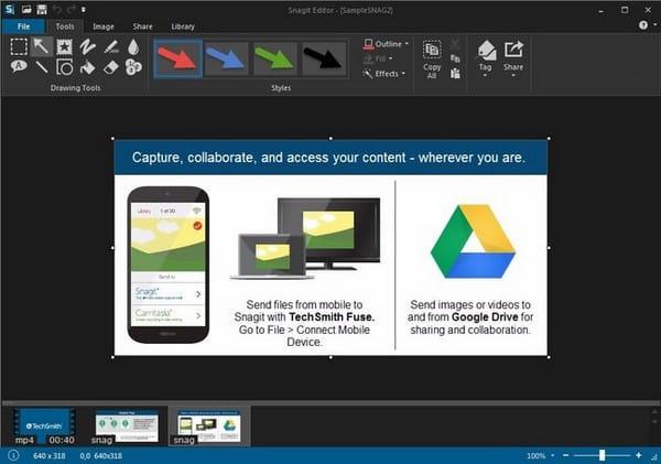 برنامج تصوير الشاشة وعمل الشروحات   TechSmith Snagit 13.0.3 Build 7015