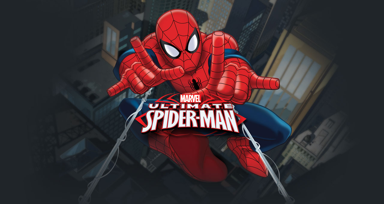 كرتون سبايدر مان Ultimate Spider Man مترجم 3 مواسم فارس