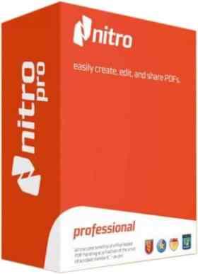 برنامج إدارة وتحويل ملفات بى دى إف | Nitro Pro Retail 11.0.5.271