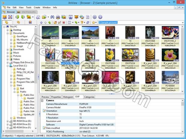 برنامج استعراض وتحوبل الصور | XnView 2.41 Complete