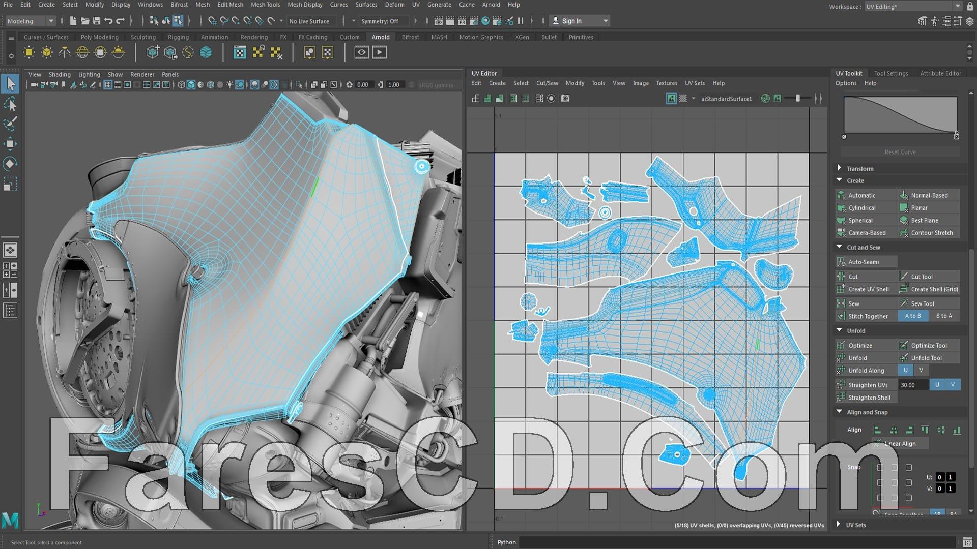 برنامج أوتوديسك مايا 2019 | Autodesk Maya 2019.1