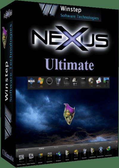 برنامج تغيير شكل الويندوز Winstep Nexus Ultimate 1812