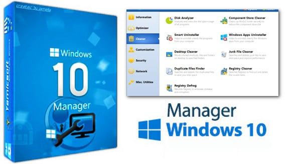 برنامج صيانة وإصلاح ويندوز 10 | Yamicsoft Windows 10 Manager