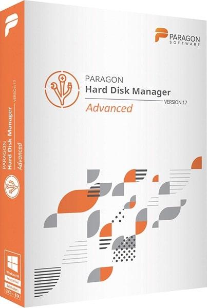 اسطوانة إدارة وتقسيم الهارديسك 2019 | Paragon Hard Disk Manager 17.10.4 WinPE