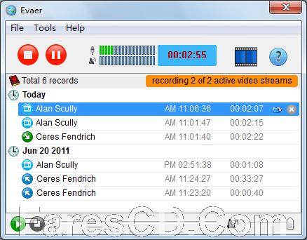 برنامج تسجيل مكالمات سكايب | Evaer Video Recorder for Skype 1.7.12.31
