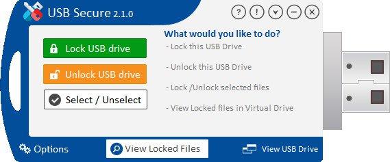 برنامج حماية وتشفير الفلاشات | USB Secure 2.1.6