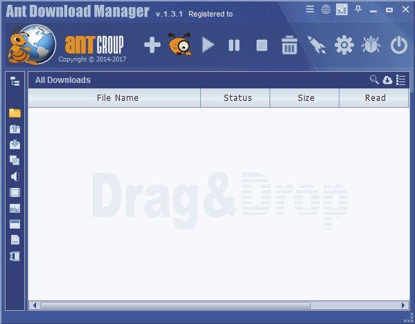 برنامج التحميل من الإنترنت | Ant Download Manager Pro