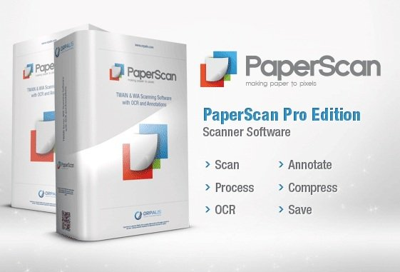 برنامج المسح الضوئى الرائع | ORPALIS PaperScan Professional