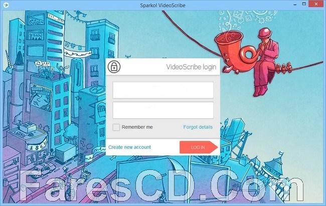برنامج تصميم الفيديوهات المتحركة | Sparkol VideoScribe PRO Edition