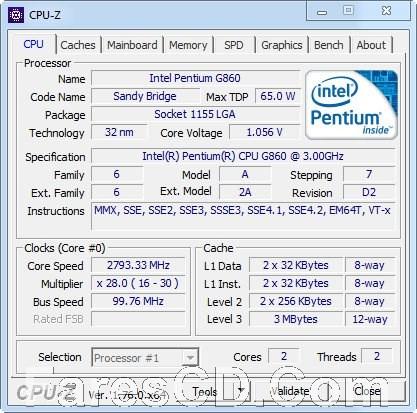 البرنامج الشهير لمعرفة مواصفات جهازك بالتفصيل | CPU-Z 1.86.0