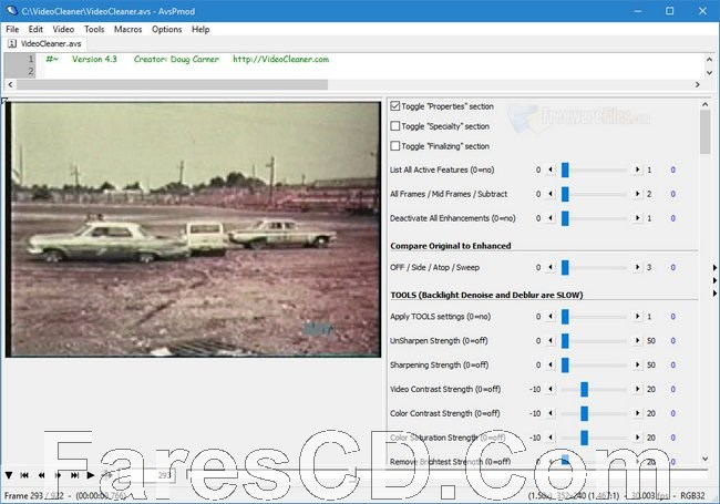 برنامج تحسين جودة الفيديو 2019 | VideoCleaner 5.7