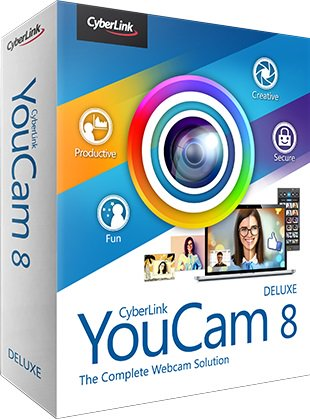 برنامج إدارة كاميرا الويب بإحترافية | CyberLink YouCam Deluxe
