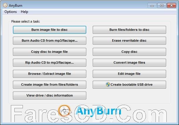 برنامج نسخ جميع انواع الاسطوانات | Any Burn