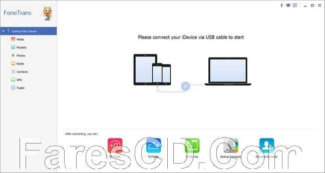 برنامج نقل الملفات من الايفون للكومبيوتر | Aiseesoft FoneTrans