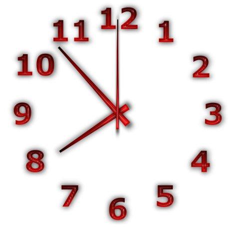 أداة عمل ساعة حائط للديسكتوب | TheAeroClock