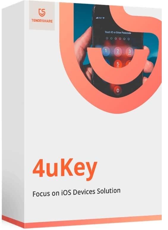 برنامج فتح قفل الايفون والايباد   Tenorshare 4uKey 2.1.4.8