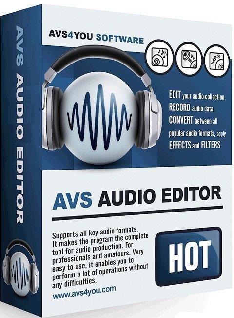 برنامج تحرير ومونتاج الملفات الصوتية | AVS Audio Editor