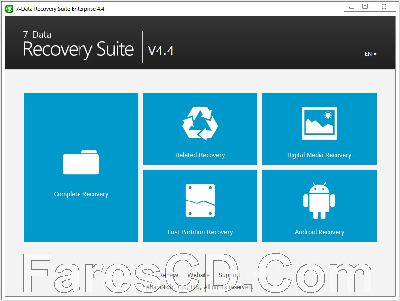 البرنامج الشامل لإستعادة المحذوفات | 7Data Recovery Suite
