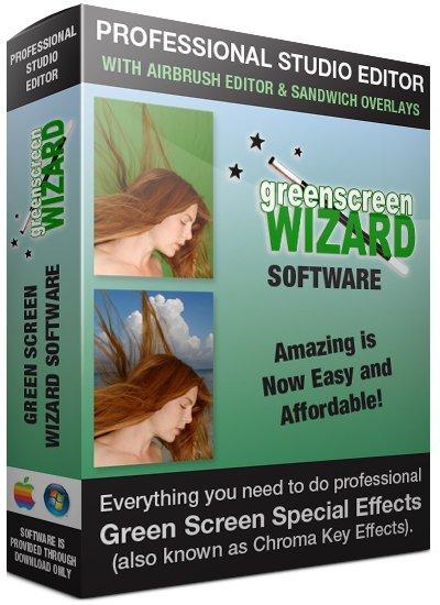 برنامج إزالة خلفية الكروما من الصور | Green Screen Wizard Professional