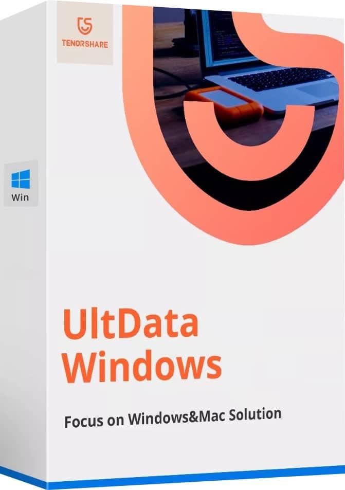 برنامج استعادة الملفات المحذوفة | Tenorshare UltData Windows 7.1.0.18