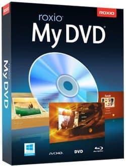 برنامج إنشاء ونسخ اسطوانات الفيديو | Roxio MyDVD