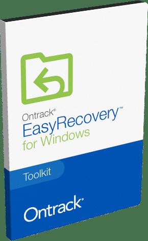برنامج استعادة الملفات المحذوفة | Ontrack EasyRecovery Toolkit for Windows