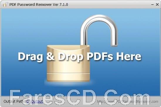 برنامج فتح ملفات بى دى إف المحمية | PDF Password Remover