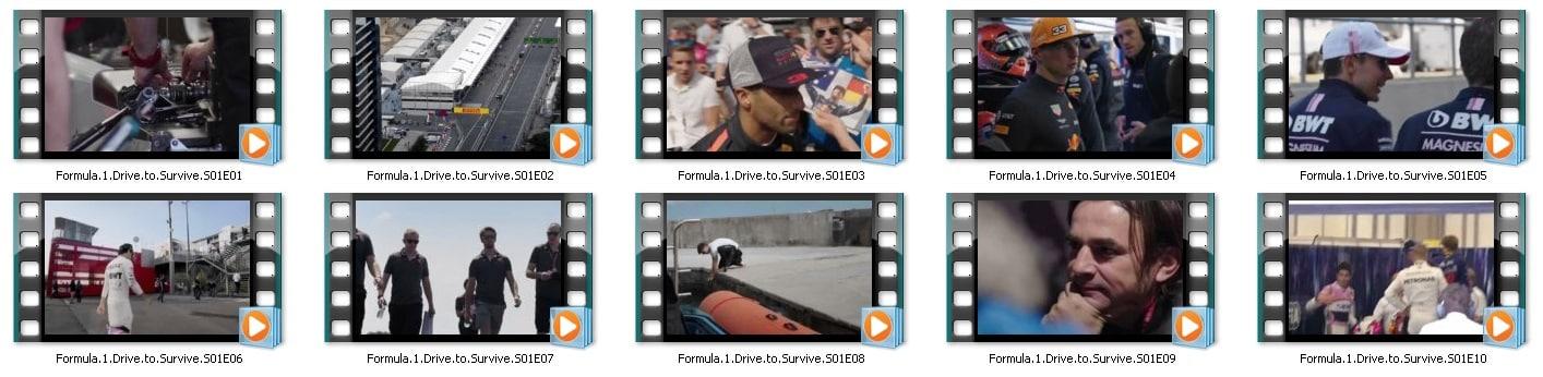 سلسلة Formel 1 Drive to Survive 2019 | وثائقى من 10 أفلام