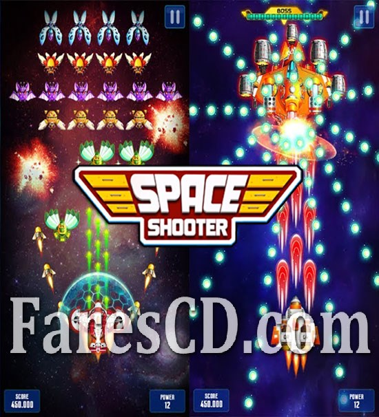لعبة التسلية و الفضاء للاندرويد | Galaxy Attack: Space Shooter v1.310