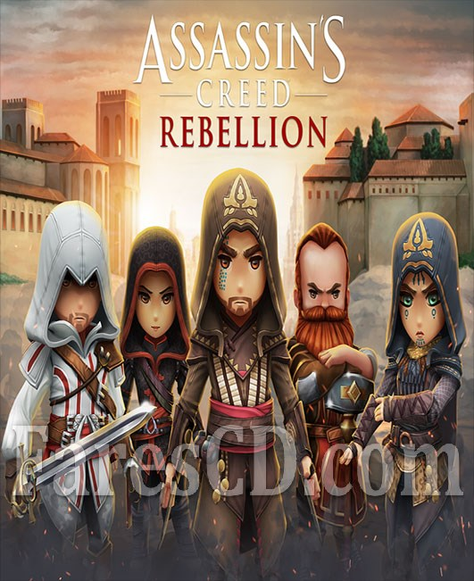 لعبة المغامرات و القتال الشهيرة للاندرويد   Assassins Creed Rebellion MOD