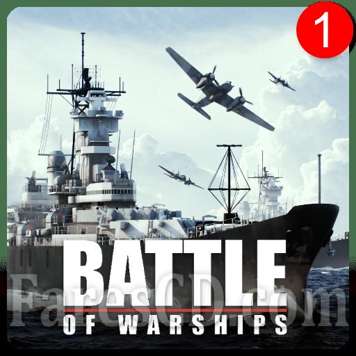معركة السفن الحربية | Battle of Warships: Naval Blitz MOD v1.67.11 | أندرويد