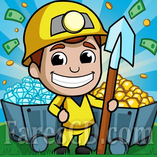 لعبة | Idle Miner Tycoon MOD | اندرويد