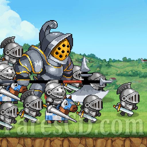 لعبة الأستراتيجية | Kingdom Wars MOD v1.4.6 | للأندرويد