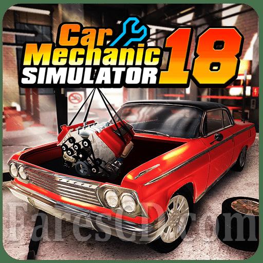 لعبة جراج السيارات | Car Mechanic Simulator 18 MOD v1.2.4 | للأندرويد
