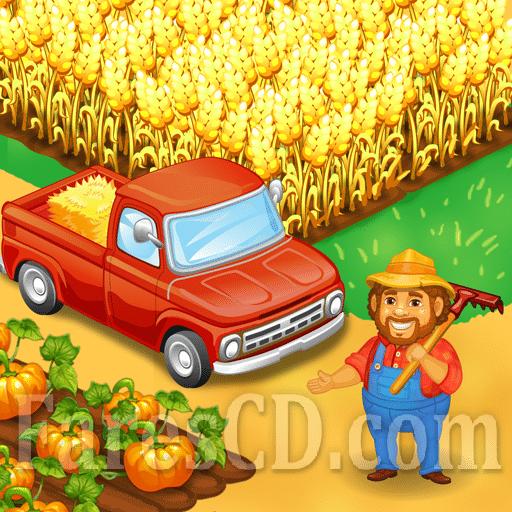 لعبة المزرعة | Farm Town: Happy Farming Day MOD | أندرويد