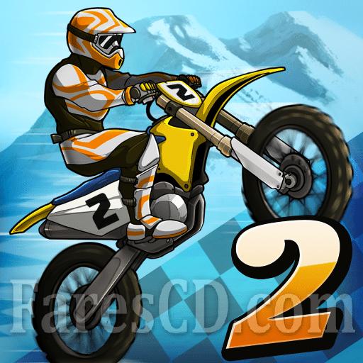 لعبة سباق الدرجات النارية | Mad Skills Motocross 2 MOD v2.8.4 | أندرويد
