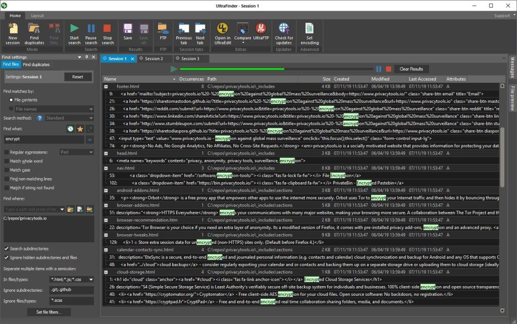 برنامج البحث الرهيب | IDM UltraFinder