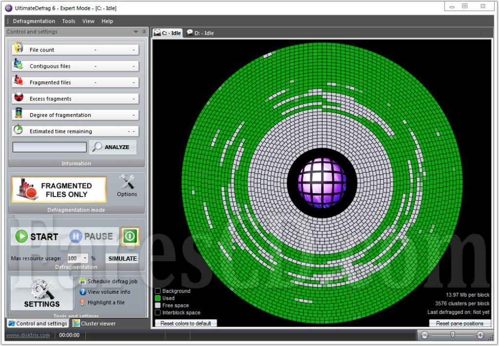 برنامج تحسين أداء الهارد و تسريعه   DiskTrix UltimateDefrag 6.0.20.0