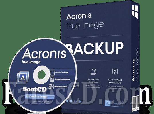 اسطوانة أكرونس للنسخ الإحتياطى | Acronis True Image 2020 Bootable ISO