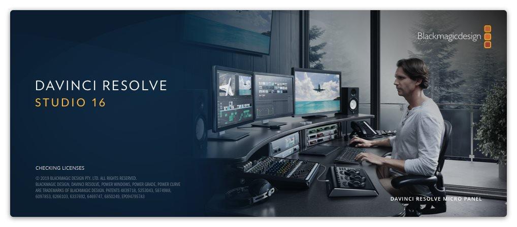 برنامج دافنشى للمونتاج 2020 Blackmagic Design Davinci Resolve Studio 16 2 7 8 فارس الاسطوانات