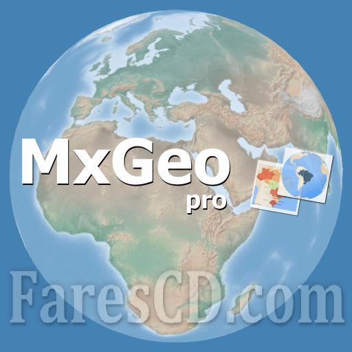 تطبيق أطلس خرائط العالم | World atlas and world map MxGeo Pro v6.2.18 | أندرويد
