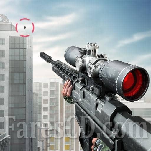 افضل العاب القنص للاندرويد | Sniper 3D Assassin Gun Shooter MOD