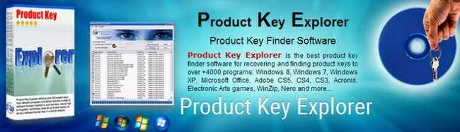 برنامج جلب سيريالات البرامج | Nsasoft Product Key Explorer