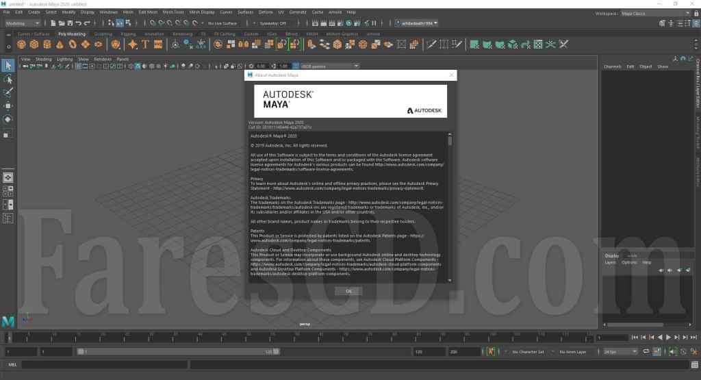 برنامج أوتوديسك مايا 2020   Autodesk Maya 2020