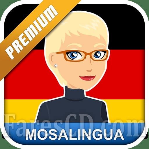 تطبيق تعليم الألمانية | Learn German with MosaLingua | أندرويد