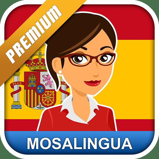 تطبيق تعليم الأسبانية | Learn Spanish with MosaLingua | أندرويد
