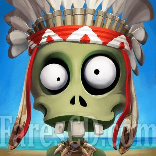 لعبة جزيرة ساحل الزومبى | Zombie Castaways MOD v3.31.1 | أندرويد