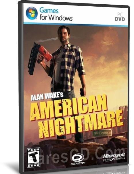 لعبة الرعب والأكشن   Alan Wakes American Nightmare