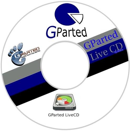 اسطوانة صيانة و تقسيم الهارد | Gnome Partition Editor (GPartEd) Live
